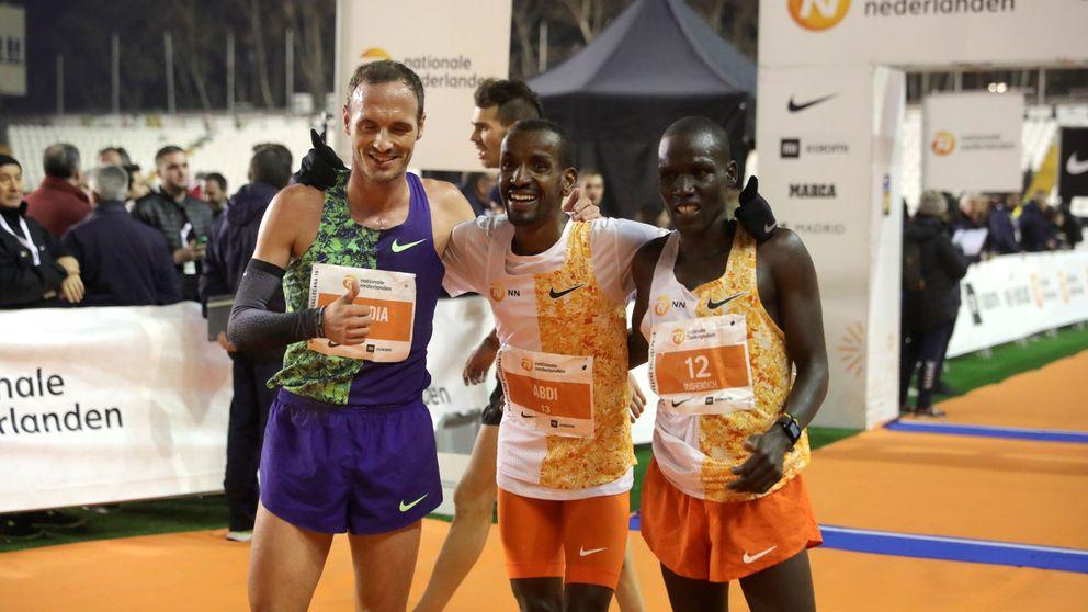 El belga Abdi gana la San Silvestre Vallecana con récord español de Toni Abadía