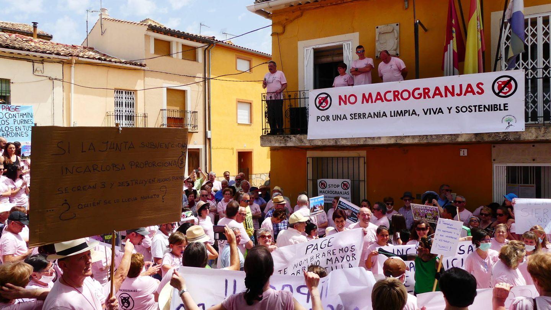 Manifestación en Villalba. (Pueblos Vivos)