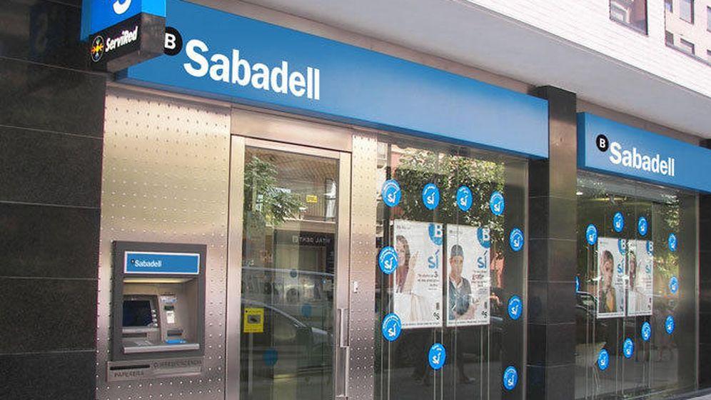 Foto: Oficina del banco Sabadell