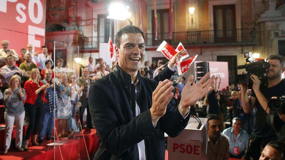 Sánchez: el PSOE es el único partido que puede pactar con Podemos, C's o IU