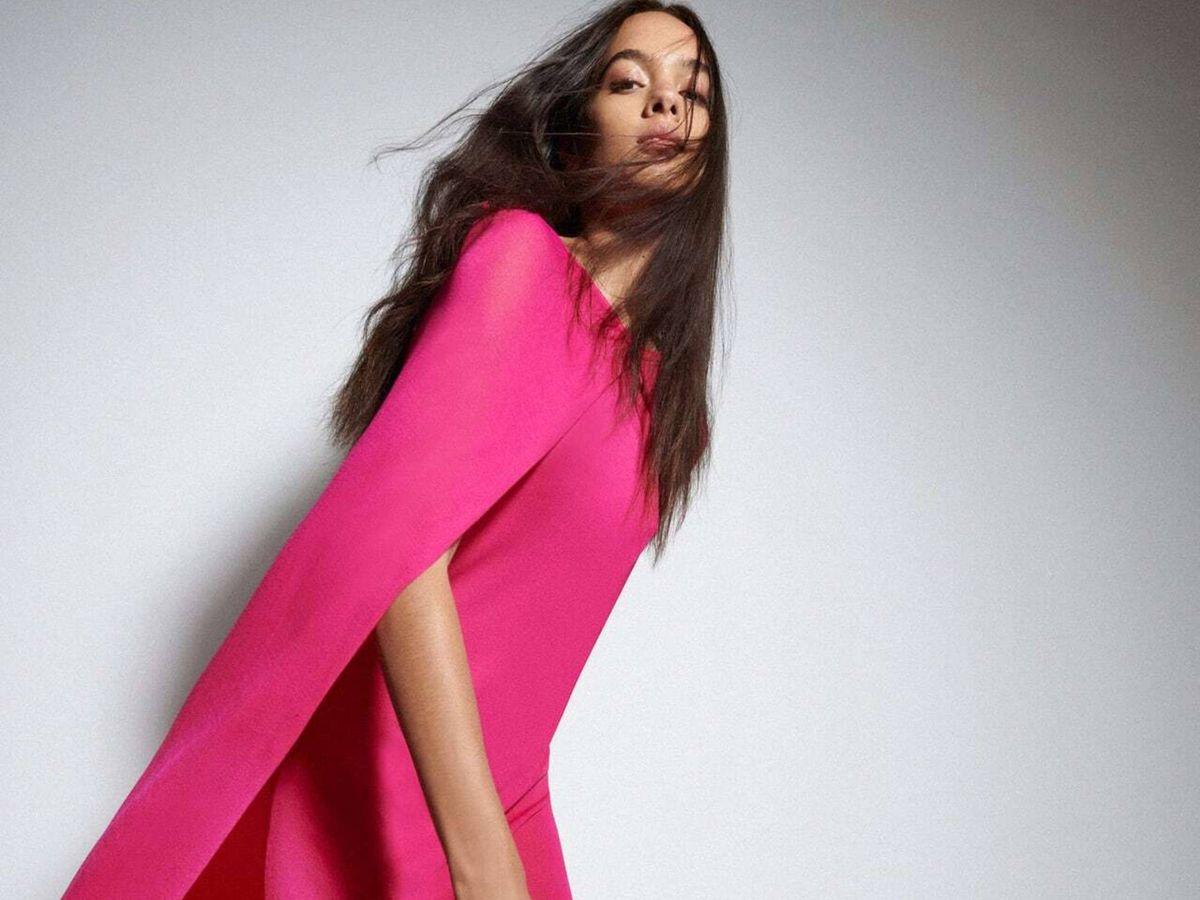 Foto: Un vestido de Zara. (Cortesía)