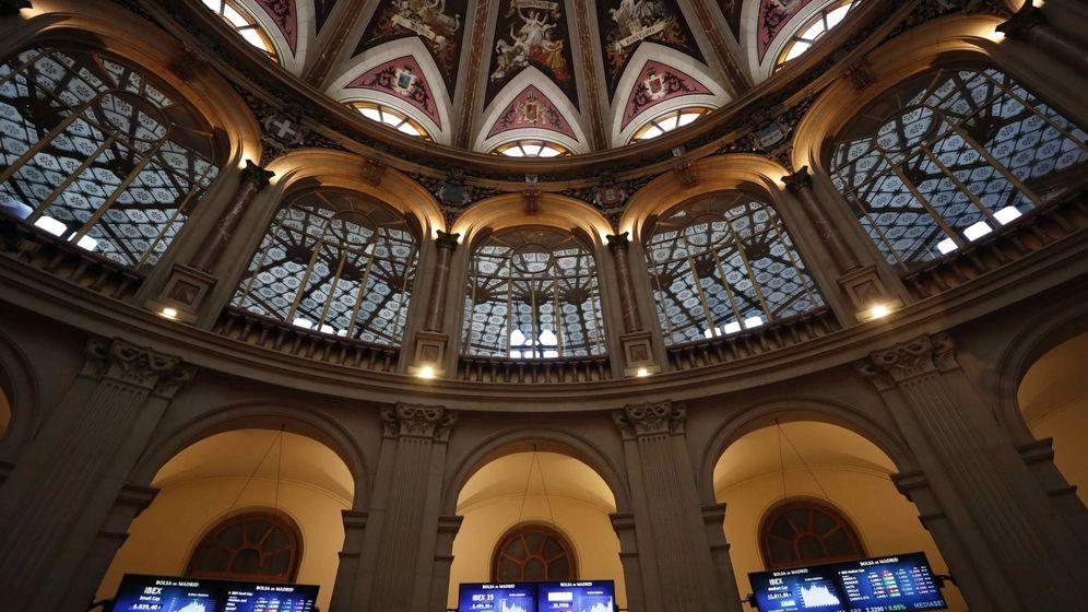 Foto: El palacio de la Bolsa en Madrid (España). (EFE)