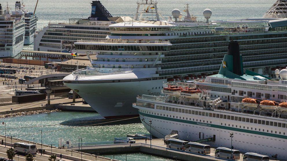 Por tierra, mar y aire: los cruceros 'revolucionan' el turismo en Málaga