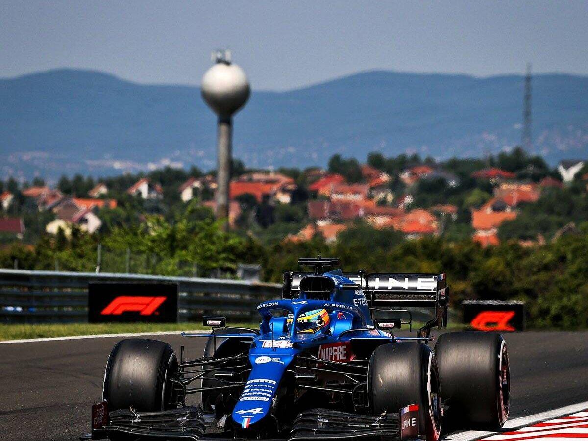 Foto: El Alpine ofreció buenas perspectivas en Hungaroring, aunque Alonso espera encontrar más tiempo en su A521