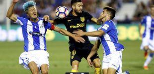 Post de La endémica falta de gol del Atlético provoca el cabreo de Griezmann