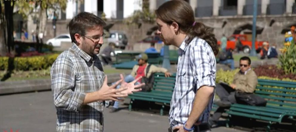 Foto: Jordi Évole y Pablo Iglesias en 'Salvados' (LaSexta)
