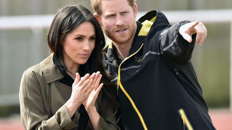 El príncipe Harry y Meghan Markle. (EFE)