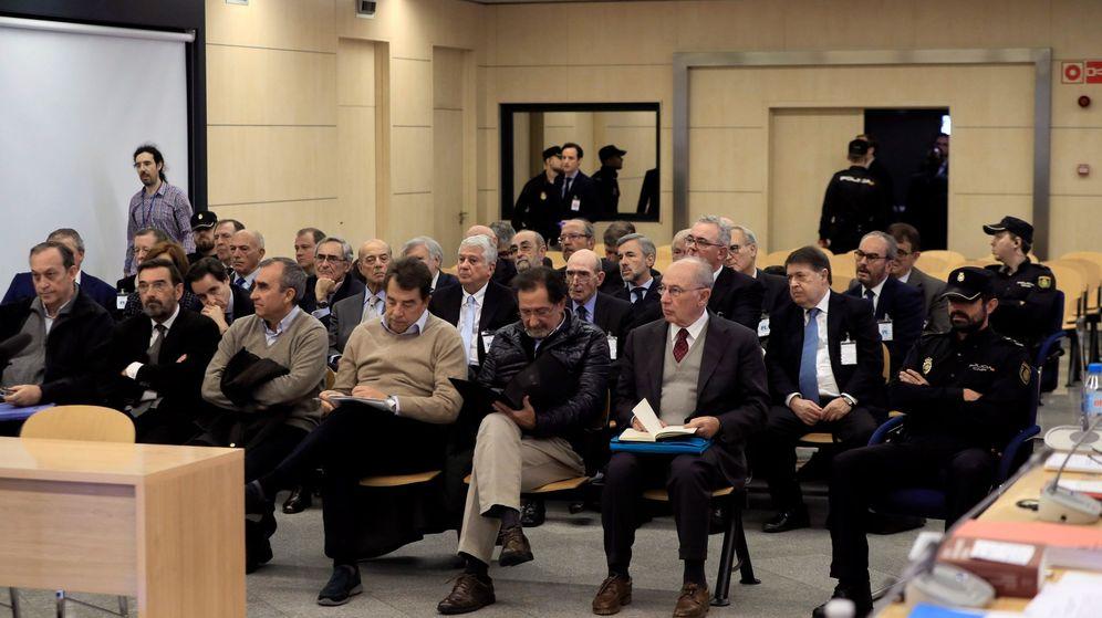 Foto: Banquillo de los acusados del caso Bankia. (EFE)