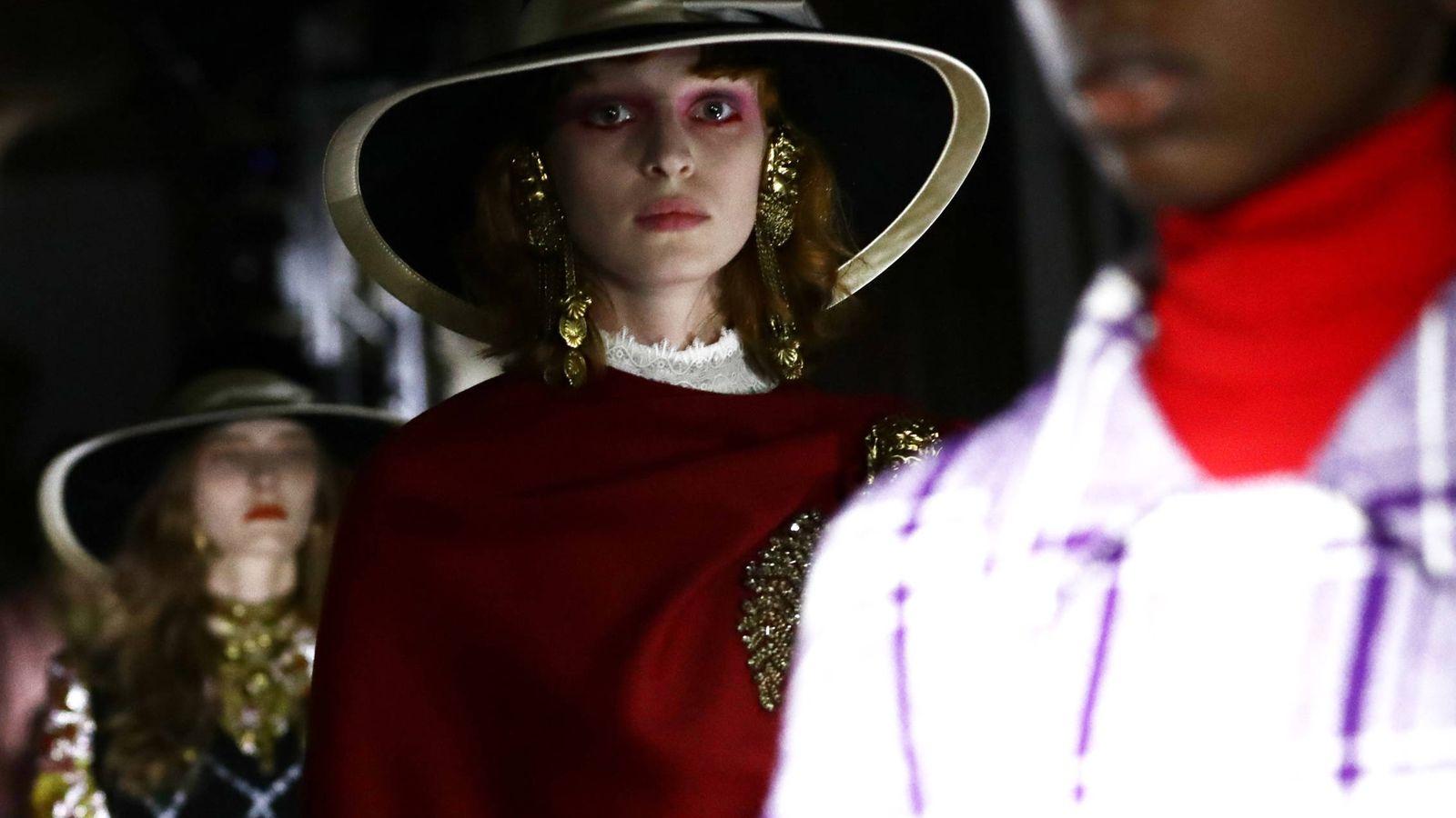 Foto: El último desfile de Gucci. (Getty)
