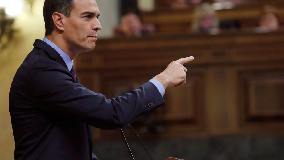 Sánchez acusa a PP y Cs de abrazar a Vox y movilizar la España rancia y caduca