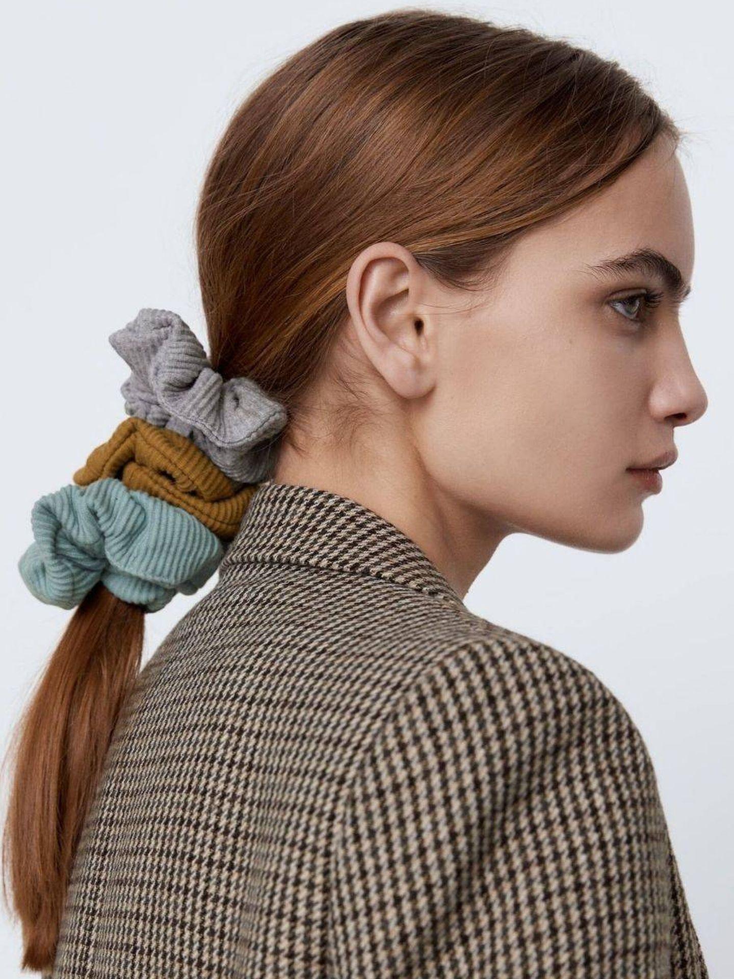 Scrunchies, de Zara