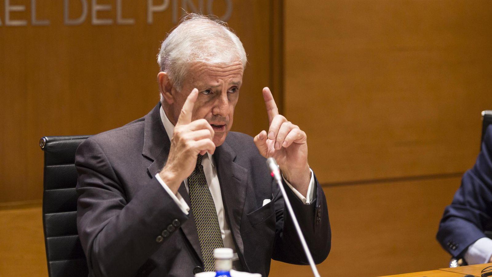 Foto: Sean Cleary durante su conferencia en la Fundación Rafael del Pino. (FRP)
