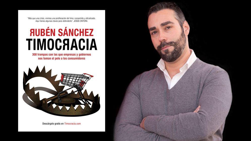 Foto: Rubén Sánchez, portavoz de Facua y autor de 'Timocracia'.
