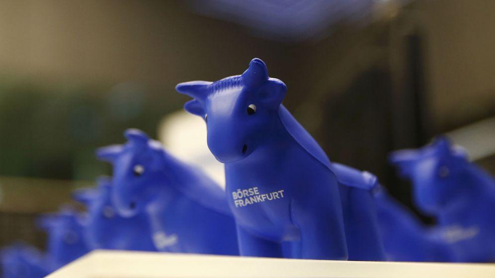 Foto: El toro, señal de subidas en los mercados. (Reuters)