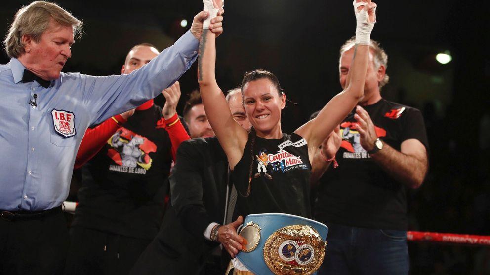 Joana Pastrana retiene el título mundial del peso mínimo con una exhibición de boxeo
