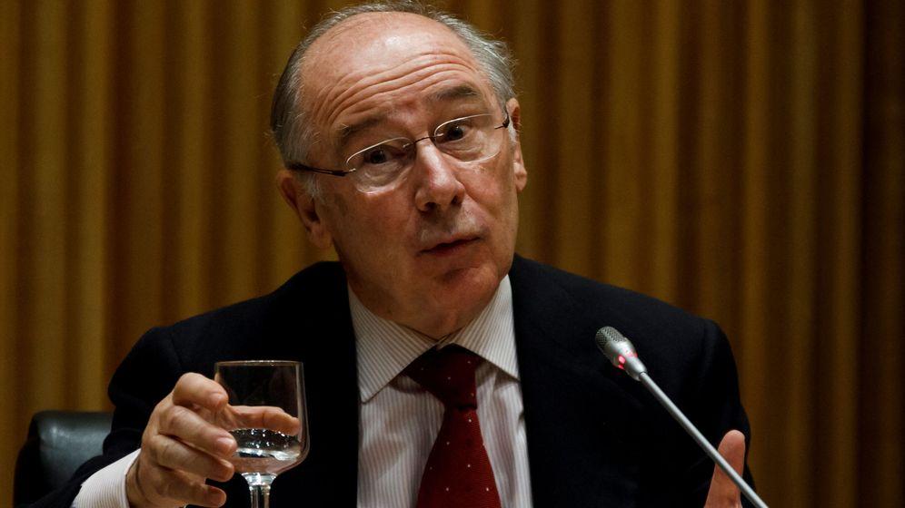 Foto: Rodrigo Rato en la comisión parlamentaria sobre la crisis financiera del pasado enero. (Reuters)