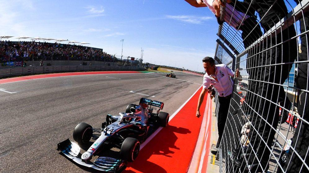 Foto: Lewis Hamilton se proclamó campéon del mundo en Estados Unidos. (Mercedes)