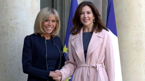 Brigitte Macron y Mary de Dinamarca, duelo de damas en el Elíseo