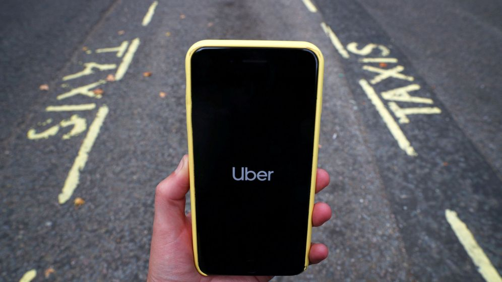 Foto: Aplicación de Uber.