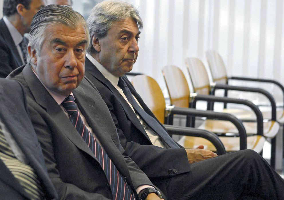 Foto: Foto de archivo de los empresarios Alberto Alcocer y Alberto Cortina (Efe)