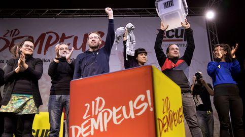 La CUP ofrece su voto a un presidente republicano y pide concreción a Puigdemont