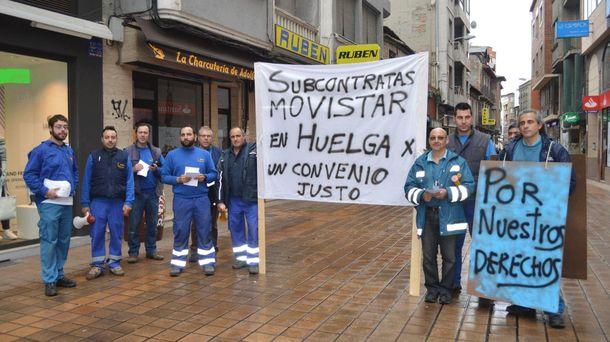 Foto: La huelga le va a salir a Telefónica baratísima