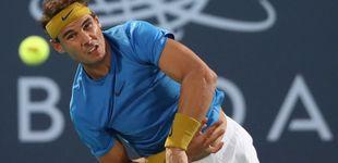 Post de Rafa Nadal pierde en su reaparición y no jugará este sábado para no arriesgar