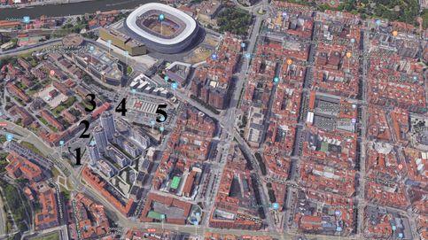 Arrasate e Ibosa pelean por la torre de pisos más alta de Bilbao