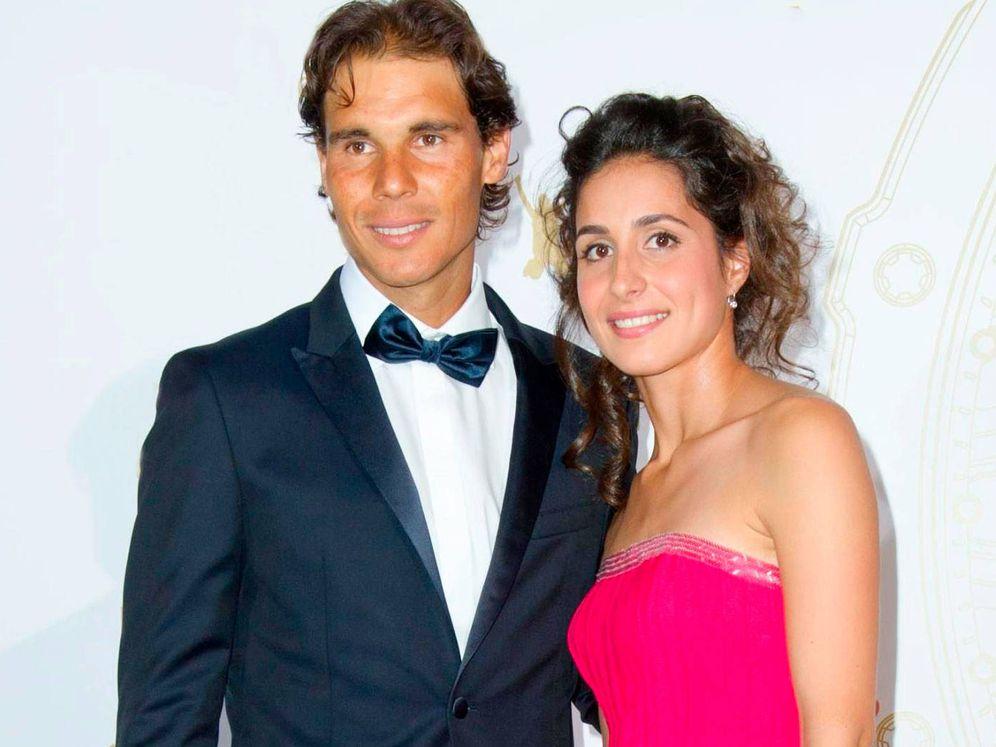 Foto: El tenista y su pareja en una imagen de archivo.(Getty)