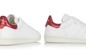 Unas deportivas de Isabel Marant que parecen las Stan Smith de Adidas en caras