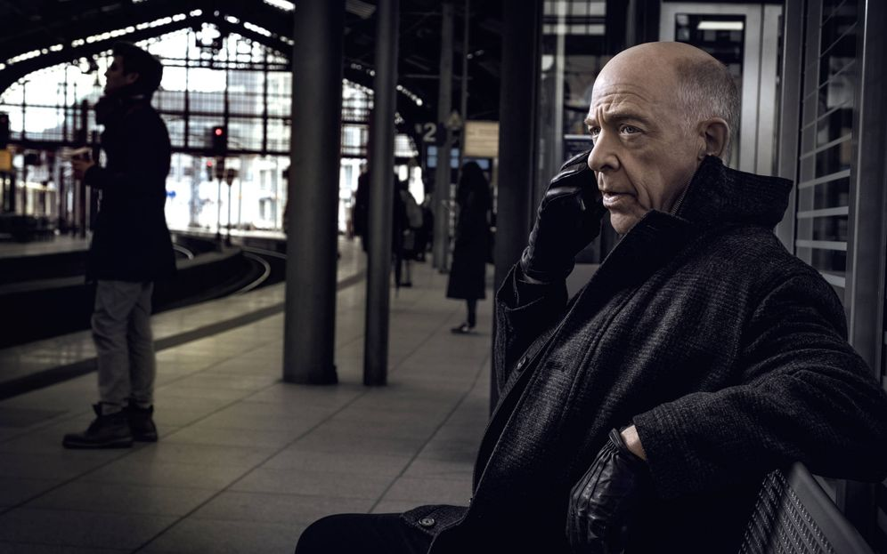 Foto: J.K Simmons, protagonista de 'Counterpart'. (HBO)