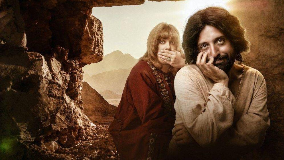 Foto: Imagen promocional de la parodia navideña 'La primera tentación de Cristo' (Netflix)