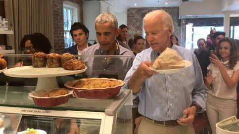 Barack Obama y Joe Biden reaparecen juntos... en una pastelería
