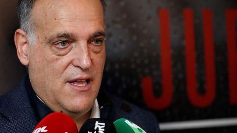 Javier Tebas, imputado por un presunto delito de alzamiento de bienes