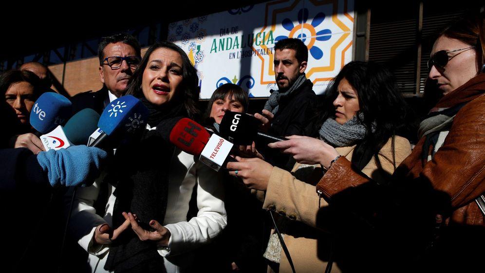 Foto: La líder de Ciudadanos en Cataluña, Inés Arrimadas. (EFE)