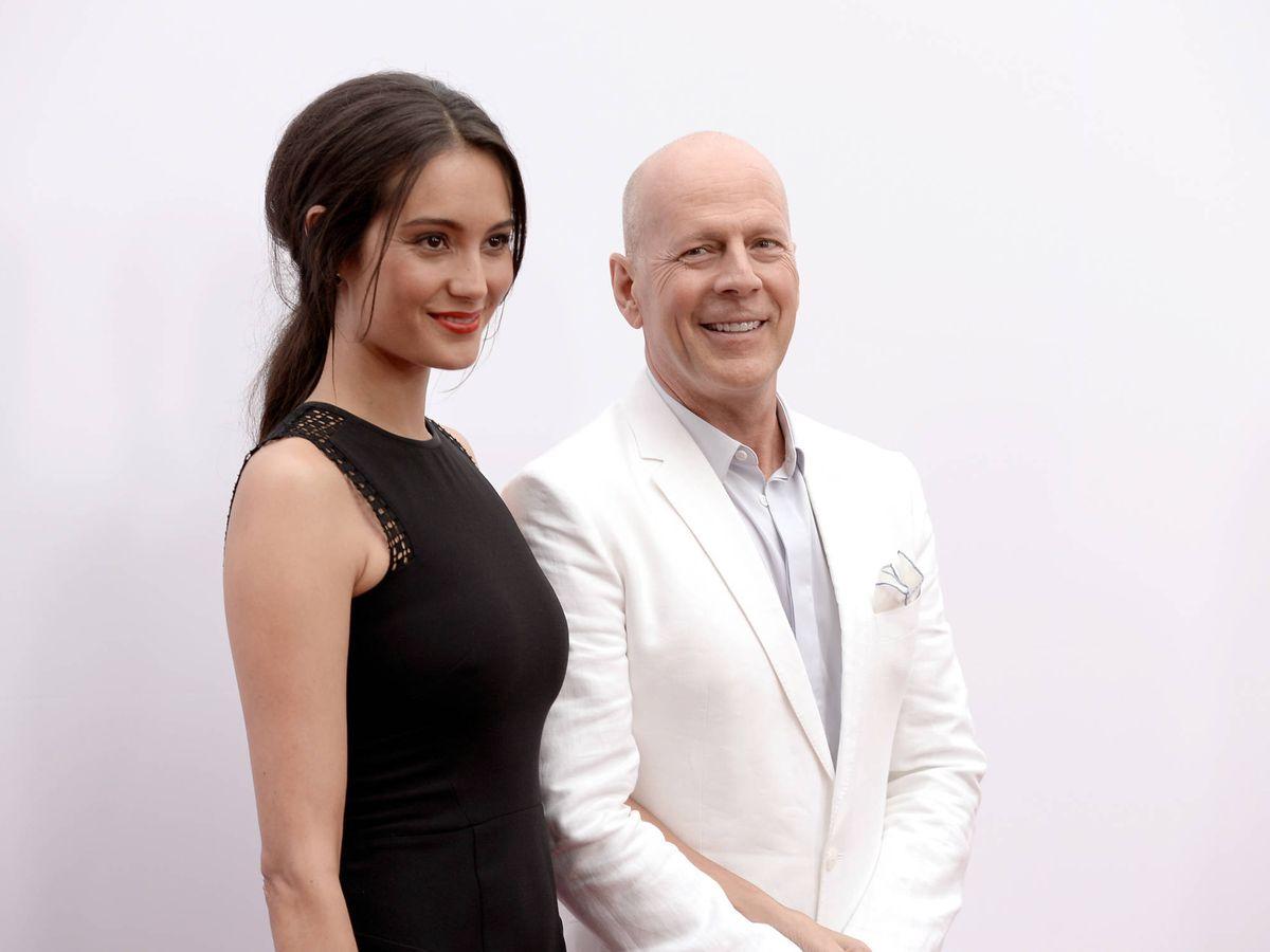 Foto:  Bruce Willis y Emma Heming. (Getty)