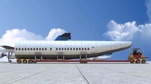 El avión con el que podrían salvarse miles de vidas en caso de accidente