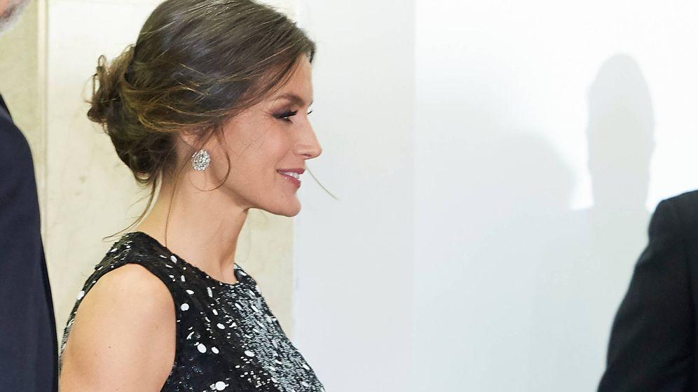 Foto: La reina Letizia a su llegada. (Limited Pictures)