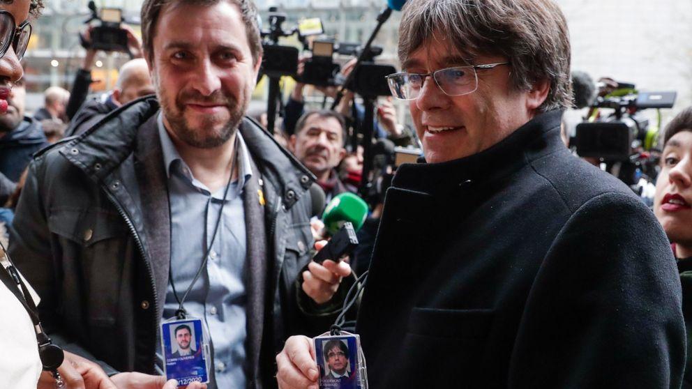 La Abogacía pide a Llarena un suplicatorio para levantar la inmunidad a Puigdemont