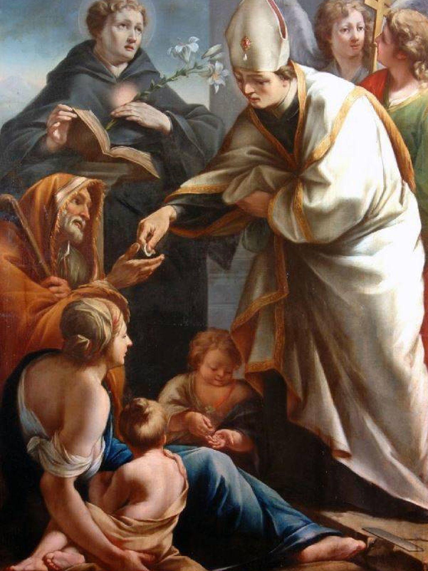Santo Tomás de Villanueva, retratado por Giuseppe Viscardi. (C.C.)