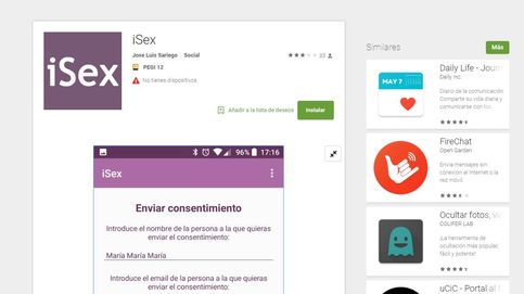 Firma aquí para tener sexo: iSex, la 'app' machista para evitar denuncias por abuso