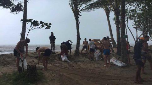 Los Leones arriman su solidario hombro en Fiji frente al ciclón Winston