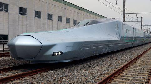 El conductor de un tren bala se va al baño cuando circulaba a 150 kilómetros por hora