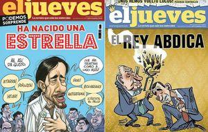 RBA retira la portada de 'El Jueves' sobre la abdicación del Rey