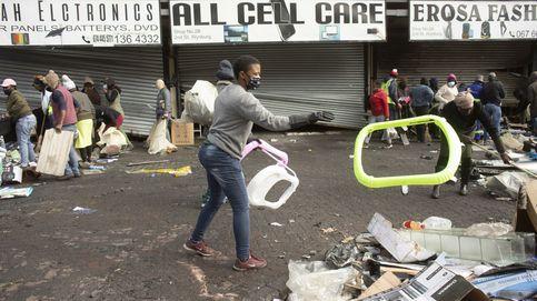 Ascienden a 117 los muertos por los saqueos y disturbios en Sudáfrica