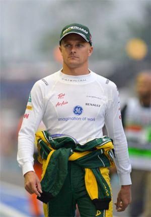 Kovalainen se incorpora a Caterham como piloto reserva