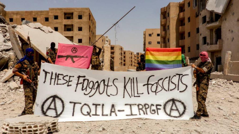 La milicia LGTB que desafía al ISIS en Siria: Estos maricas asesinan fascistas