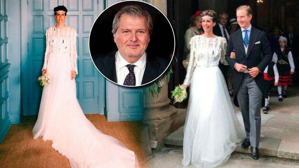 Los detalles de la boda palaciega de la sobrina del ministro Méndez de Vigo
