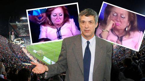 La mujer de rosa que acaparó todas las miradas en la Copa del Rey