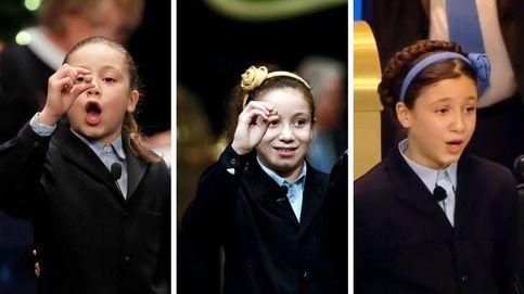 Así ha cambiado Aya, la niña de los 'mil euros' más largos y voz del Gordo de 2018